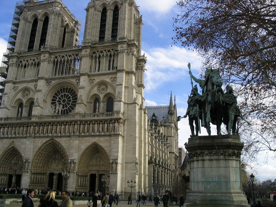 Paris, Frankrike: notre dame