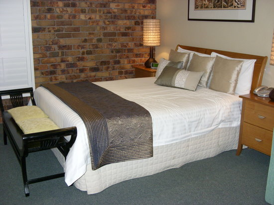 Ballina Palms Motor Inn: Beautifully dressed bed