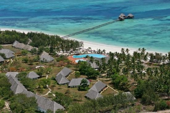 Dongwe Club Vacanze Zanzibar foto panoramica