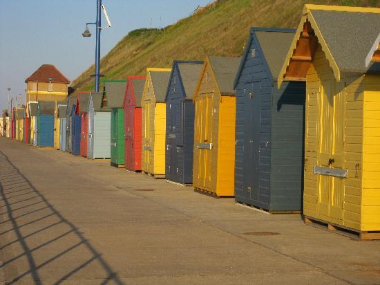 Sheringham, UK : Huts