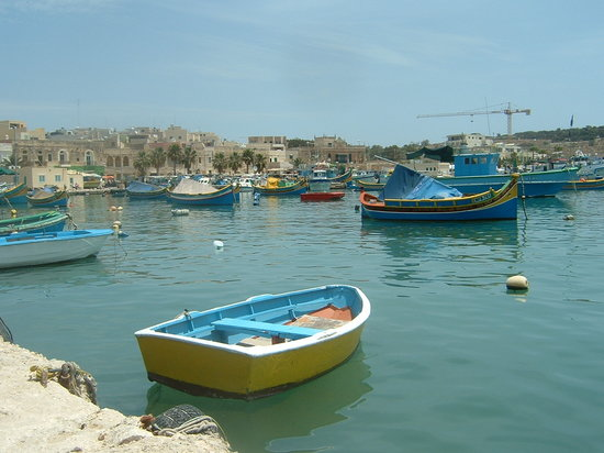 Qawra, Malta: fishing harbor