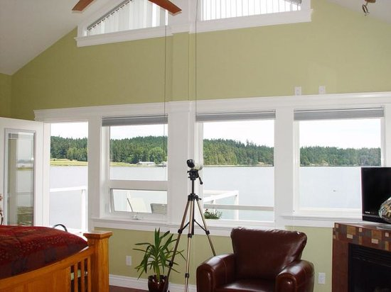 Birds of a Feather Oceanfront Bed & Breakfast: Great Room, Great View!