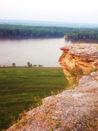 Hannibal, Миссури: View from Lovers Leap