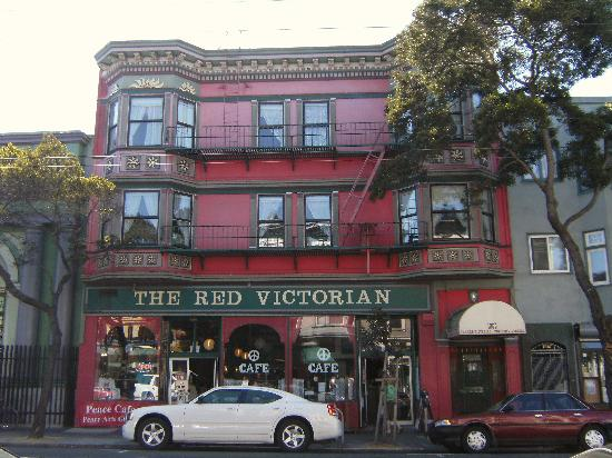 Red Victorian Bed, Breakfast & Art: Outside