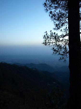 sunset in kasauli
