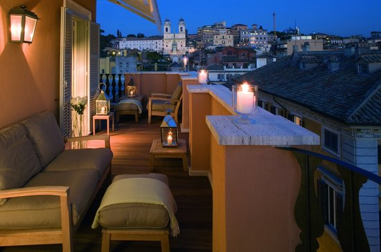 Portrait Suites: Penthouse suite Trinit dei Monti - Terrace