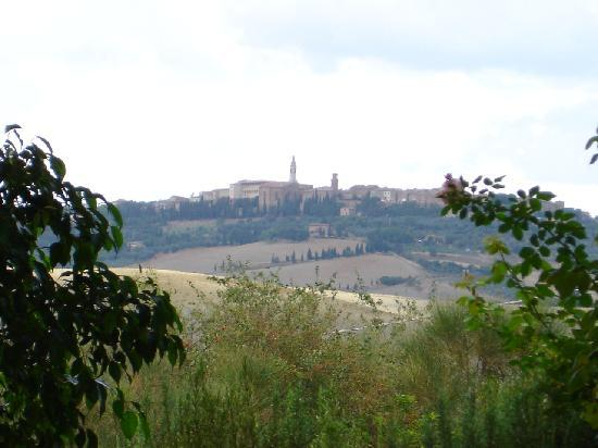 L&#39;Olmo : Sicht auf Pienza 