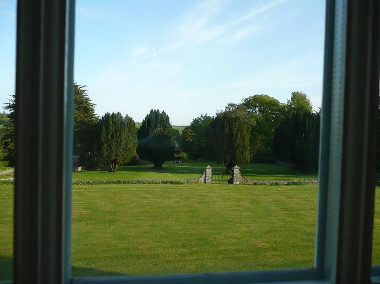 Cavens Country House Hotel: Room with a view