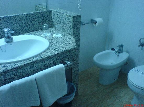 Tropic Park: a typical bathroom