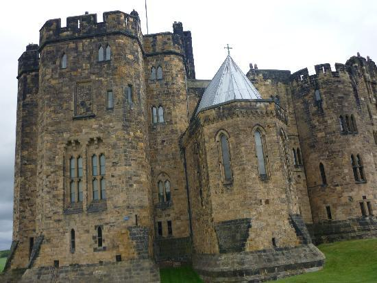 Seahouses, UK: Alnwick castle