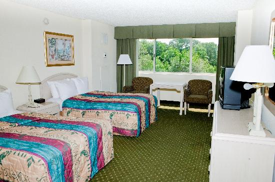 Clarion Hotel - Convention Center DeLand: Two dbl beds