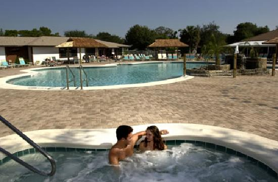 Cypress Cove Nudist Resort: Relax in our heated pools