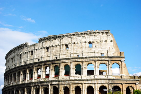 Roma, Italia: Le Coliseum