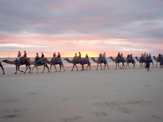 Broome, Australia: Sunset Camel Ride