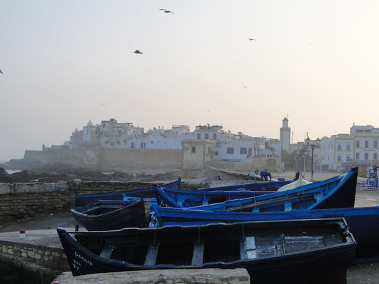 Riad Malaika: Essaouira -Early morning walk