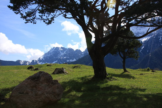 hiking in Mittenwald