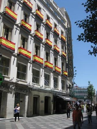 View from calle del arenal for Hotel arenal madrid