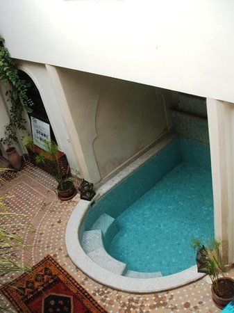 Riad Zenith: Mini Pool