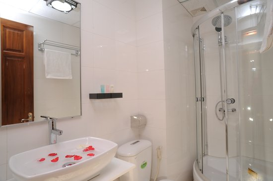Hanoi Symphony Hotel: Bath Room