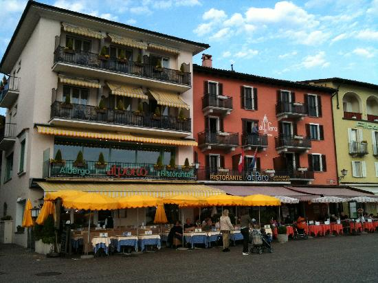 Ascona Lakefront restaurants