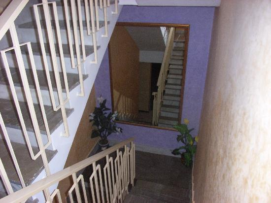 Pension Colonia: Escalera