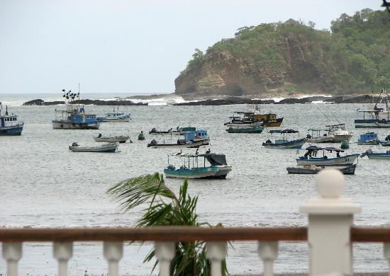 San Juan del Sur, : View from Victoriano Hotel