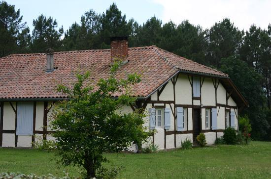 Landes, Frankrig: Maison landaise