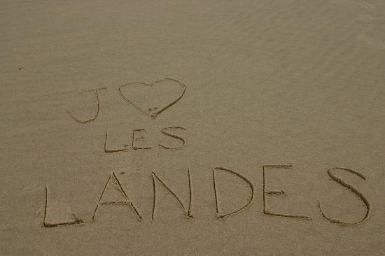 J&#39;aime les Landes