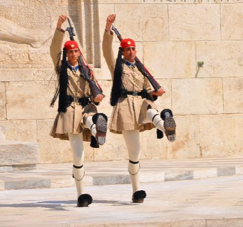 Athens, Greece: changing of guards