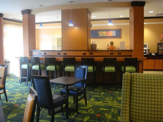 Fairfield Inn & Suites Lewisburg: Breakfast Area