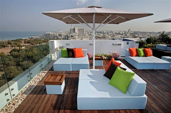 Melody Hotel   Tel Aviv - an Atlas Boutique Hotel: Roof