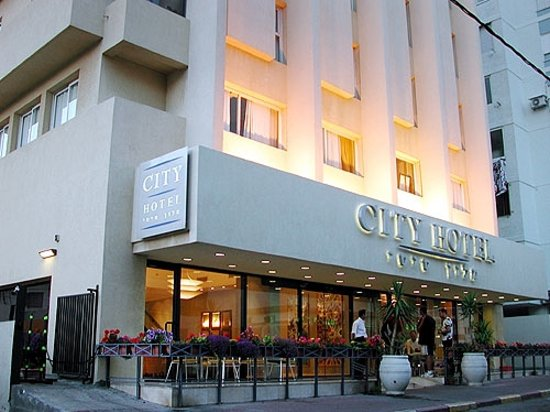 City Hotel Tel Aviv: Outside