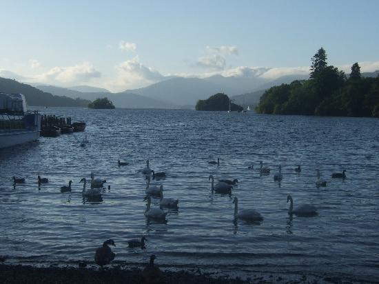 Lindeth Fell Hotel: Lake Windermere at dusk