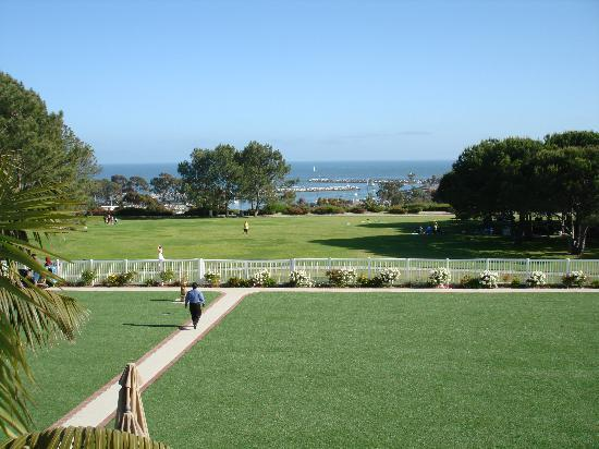 Laguna Cliffs Marriott Resort and Spa: The lovely gardens and park beyond the hotel