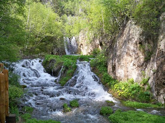 Spearfish, SD: Roughlock falls area