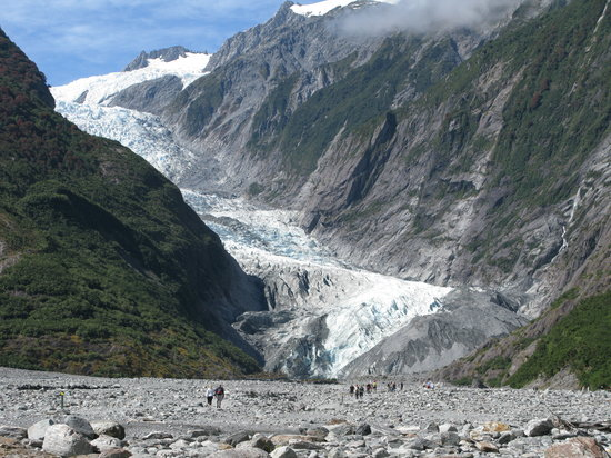 Franz Josef glacier - closeby