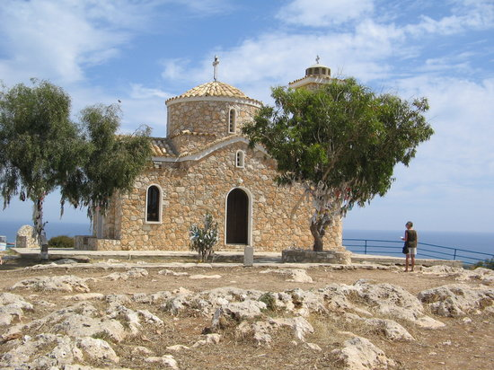 Protaras, Cyprus: local historic churchs