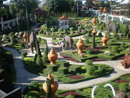 Pattaya, Thailand: Gardens at Noog Nooch