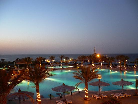 Dreams Beach Marsa Alam: L&#39;hotel di notte
