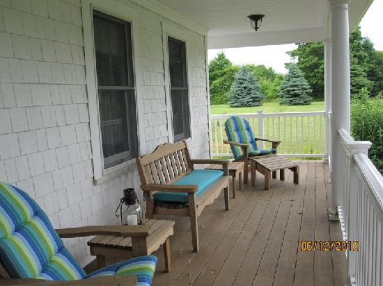 The Coffey House Bed & Breakfast: front porch