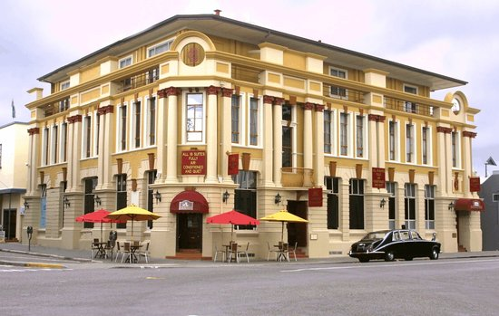 The County Hotel Napier