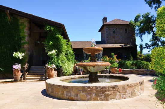 St. Helena, CA: V. Sattui Winery