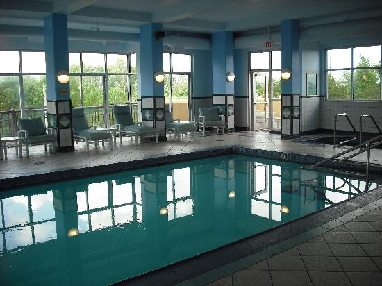 Tunica Resorts, Μισισιπής: Casino Tower indoor pool
