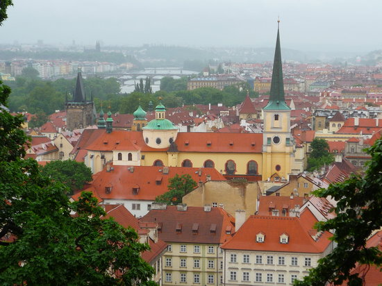 Praga, República Tcheca: And treat yourself to the cafe view, while you're at it.