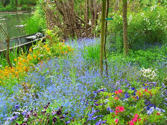 Giverny, France: spring flowers