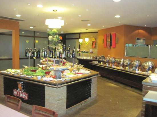 the buffet salad bar picture of sal e brasa fortaleza. Black Bedroom Furniture Sets. Home Design Ideas