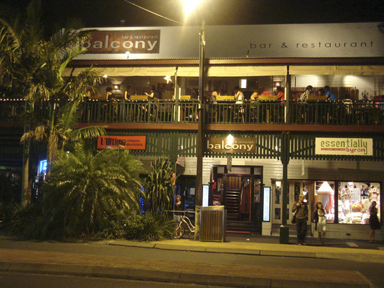 the balcony bar restaurant byron bay restaurant