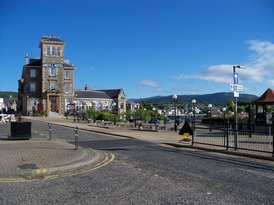 Dunoon, UK: Excellent location