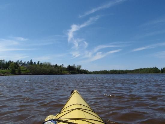 Bay Fortune, Canada: Paddling on Fortune Bay
