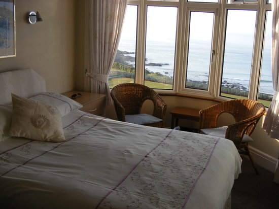 Crest o Wave Bed and Breakfast: Fantastic sea view room!